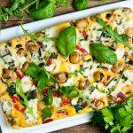 Fritaja s gljivama i sirom