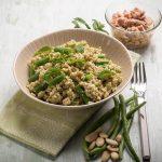 Hladna salata s rižom i mahunama