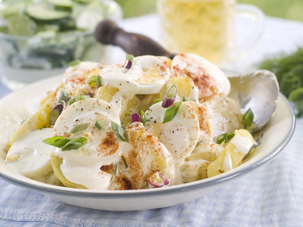 Krumpir salata s jajima