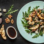 Salata od gorgonzole, oraha i grilanih kruški