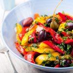 Salata od pecenih paprika