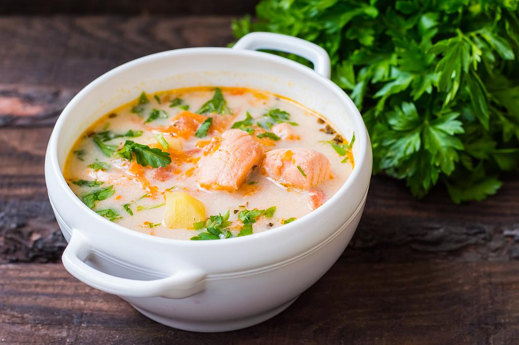 juha od lososa