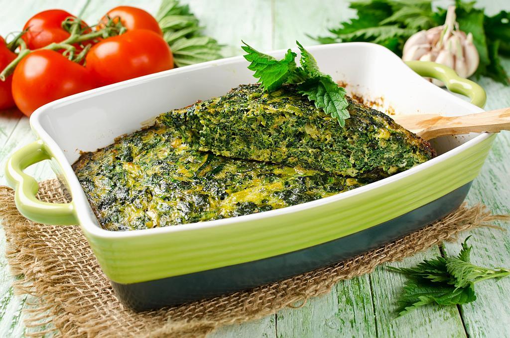 omlet od koprive