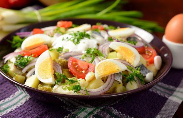 salata s krompirom i ribom