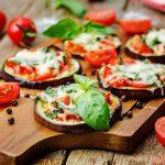 mini pizze od patlidžana