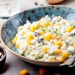 rižoto s tikvom i gorgonzolom