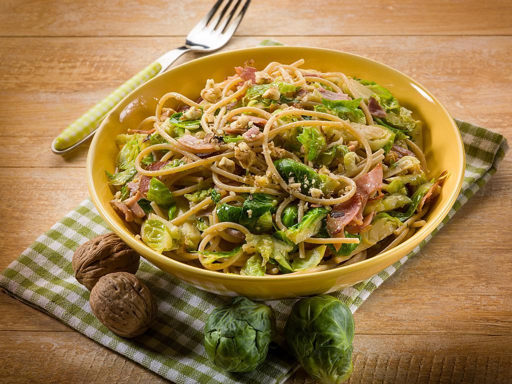 tjestenina s prokulicom i pancetom