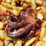 pecena hobotnica s povrcem