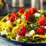 spageti od tikvica s rajcicama i sirom