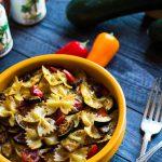 tjestenina s pecenim povrcem