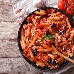 Tjestenina s rajčicama i patliđanima